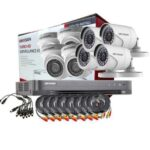 Hikvision CCTV 8 Cameras + DVR Kit 1080p 2MP